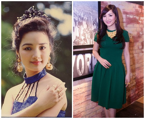 Hoa hậu Giáng My thời trẻ và hiện tại