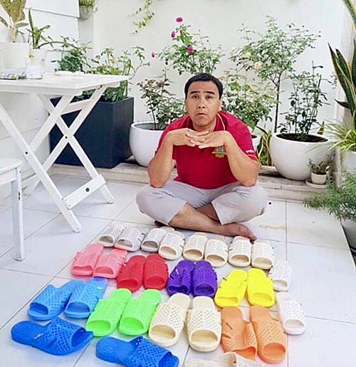 Quyền Linh có cả một bộ sưu tập đủ màu, đủ kiểu.