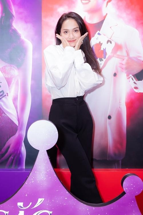 Hương Giang xuất hiện đơn giản tại sự kiện ra mắt bộ phim đầu tay của mình