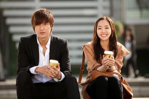 Lee Min Ho có màn phim giả tình thật với bạn diễn Park Min Young