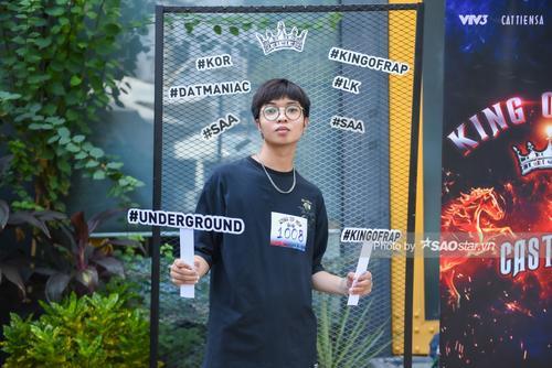 Dàn thí sinh phủ kín vòng casting King Of Rap khu vực TP.HCM: Lộ diện nhiều tài năng sáng giá Ảnh 8