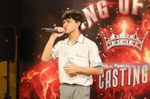 Sát giờ thi học kỳ, cậu bé lớp 10 vẫn đến casting King Of Rap 2020: Đam mê thì ngại gì thử thách Ảnh 6
