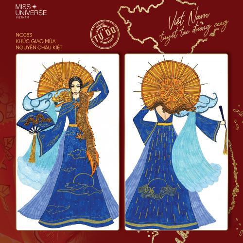 Trang phục dân tộc của Khánh Vân bí ném đá vì 'đạo nhái' National Costume Catriona Gray Ảnh 13