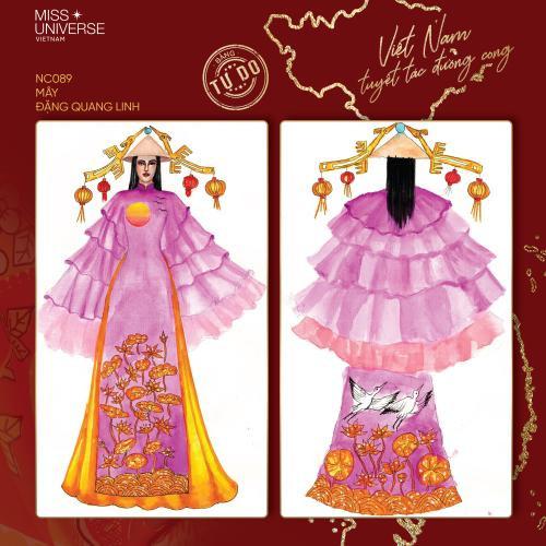 Trang phục dân tộc của Khánh Vân bí ném đá vì 'đạo nhái' National Costume Catriona Gray Ảnh 16