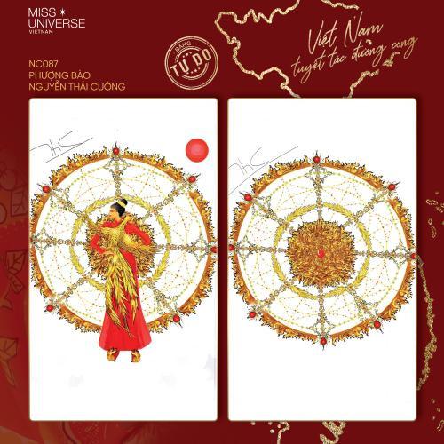 Trang phục dân tộc của Khánh Vân bí ném đá vì 'đạo nhái' National Costume Catriona Gray Ảnh 2