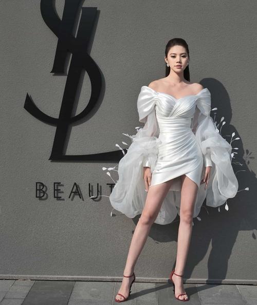 Lynk Lee đụng hàng Khánh Vân - Ninh Dương Lan Ngọc: Một chiếc váy, 3 mỹ nhân nhưng duy nhất một số phận! Ảnh 6