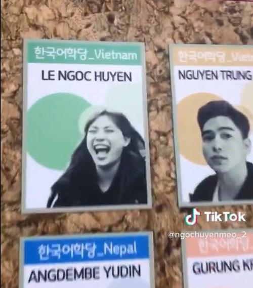 Nhan sắc đời thực của nữ du học sinh Việt 'gây sốt' MXH với hình ảnh 'lầy lội' trên bảng thông tin Ảnh 1