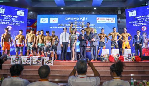 Sinh viên UEF giành 'cú đúp' giải vô địch thể hình nam – nữ Physique mở rộng 2020 lần 3 Ảnh 1