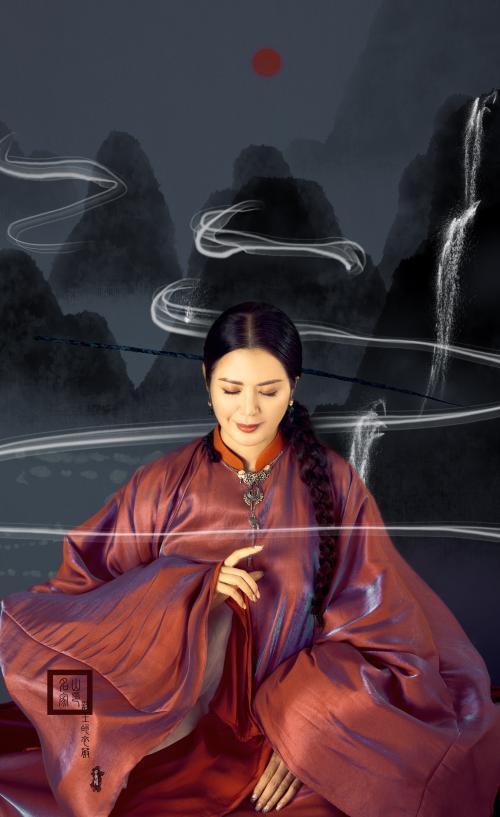 Đinh Hiền Anh hóa thân thành quý cô đương đại với áo dài Ảnh 3