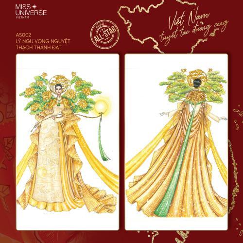 Chủ nhân thiết kế Bánh mì - Cà phê phin khuấy đảo cuộc đua tìm National Costume cho Khánh Vân Ảnh 8