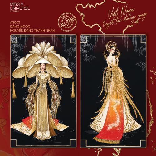 Chủ nhân thiết kế Bánh mì - Cà phê phin khuấy đảo cuộc đua tìm National Costume cho Khánh Vân Ảnh 6