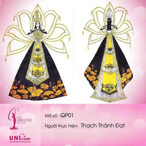 Chủ nhân thiết kế Bánh mì - Cà phê phin khuấy đảo cuộc đua tìm National Costume cho Khánh Vân Ảnh 10
