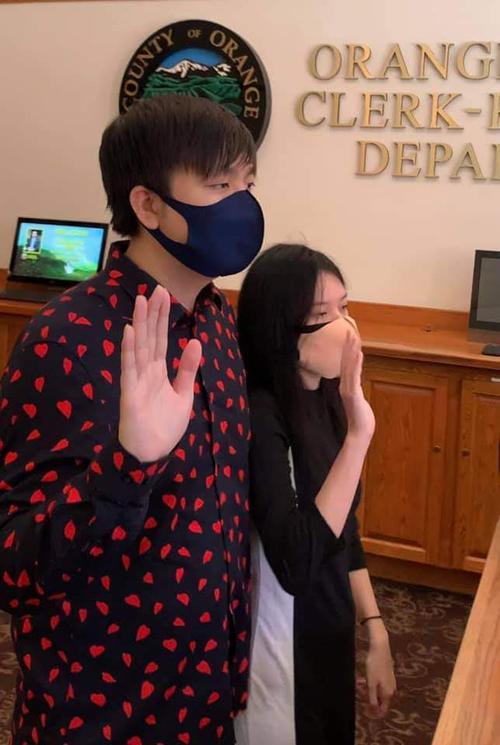 Nhạc sĩ Anh Khang đăng kí kết hôn với bạn gái tại Mỹ, tiết lộ về đám cưới tưng bừng Ảnh 2