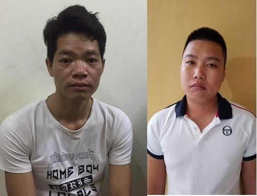 Đối tượng Hoàng Văn Thám và Nguyễn Chương Đại.