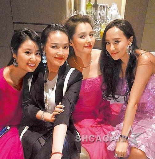 Lâm Tâm Như và Thư Kỳ có mặt trong tiệc của gia đình Từ Nhược Tuyên.