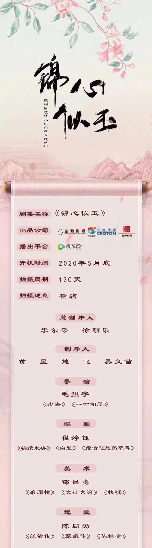 Tống Uy Long sẽ hợp tác cùng Dương Siêu Việt trong Cẩm Tâm Như Ngọc? ảnh 0