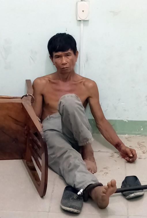 Phan Minh Cường tại cơ quan điều tra. Ảnh: Người Lao Động.