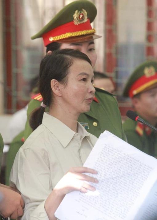 Trần Thị Hiền một mực kêu oan rằng mình không buôn bán ma tuý.
