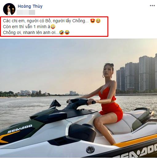 Liệu Hoàng Thùy có phải là người đẹp trong số các Hoa hậu, á hậu bước ra từ Hoa hậu hoàn vũ Việt Nam sẽ tiếp tục lên xe hoa vào năm nay.