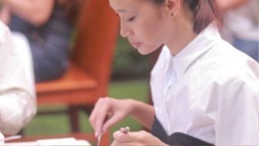 Người mẫu Trang Khiếu cũng xuất hiện trong chương trình.