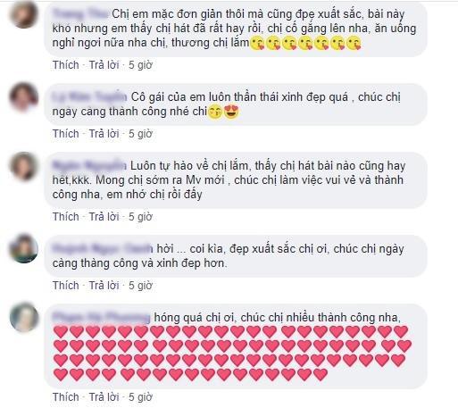 Có fan thì bình luận muốn Hương Giang sớm ra MV mới.