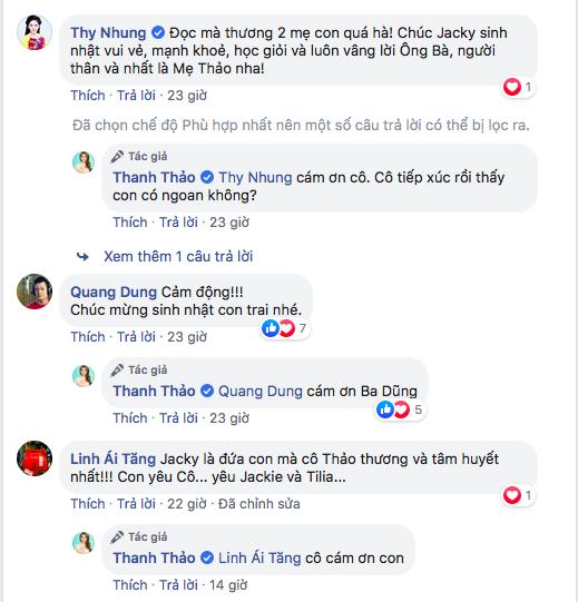Thanh Thảo nghẹn lòng khi con trai Ngô Kiến Huy và Thụy Anh hỏi: Ai là ba là mẹ của con vậy mẹ? ảnh 7