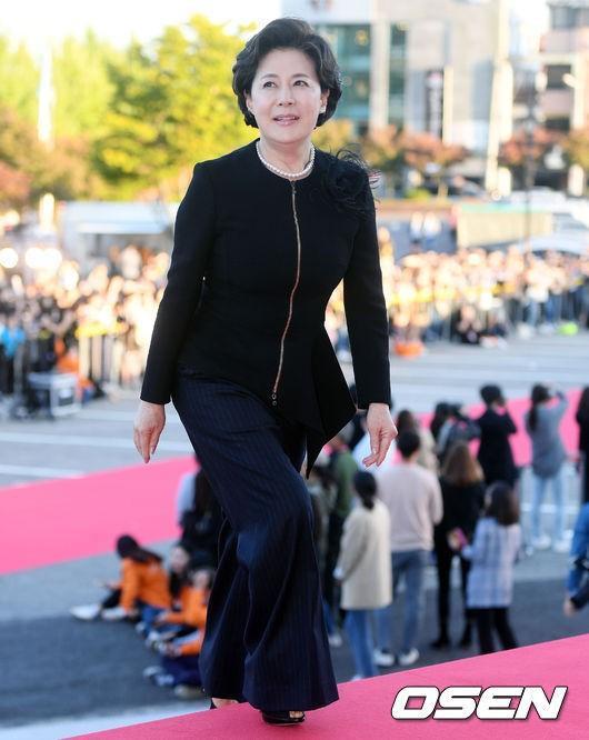 Nữ diễn viên Park Jung Soo