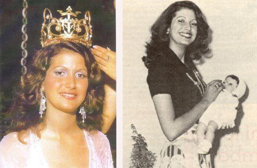 Martha Lucia Echeverry khi đăng quang năm 1974. Ảnh: warisboring.com