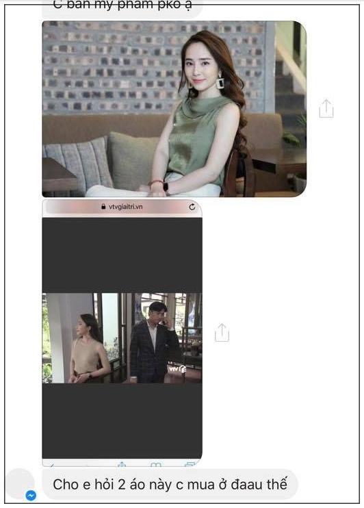 Loạt inbox của khán giả hỏi mua váy mà Quỳnh Nga diện trong Về Nhà Đi Con.