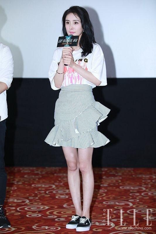 Dương Mịch, Angelababy cùng diện một phong cách thời trang nhưng tạo cảm giác khác biệt ảnh 0