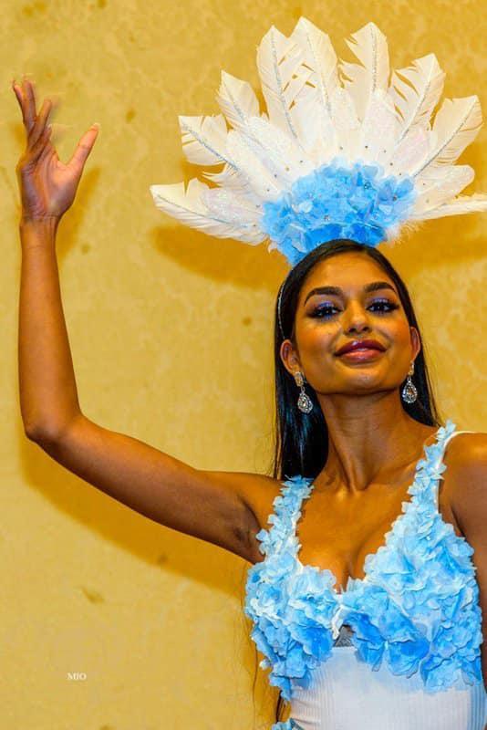 Trang phục dân tộc của đối thủ Thúy An ở Miss Intercontinental bị chê nghèo nàn, ví von giống đồ ngủ ảnh 4