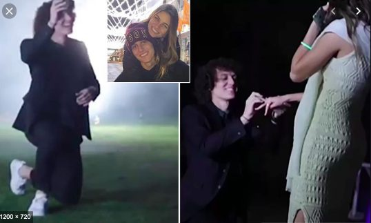 David Luiz và màn cầu hôn siêu lãng mạn với cô bạn gái 10 năm.
