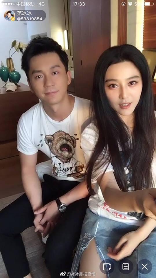 Phạm Băng Băng và Lý Thần livestream cùng nhau lần đầu tiên sau khi cầu hôn