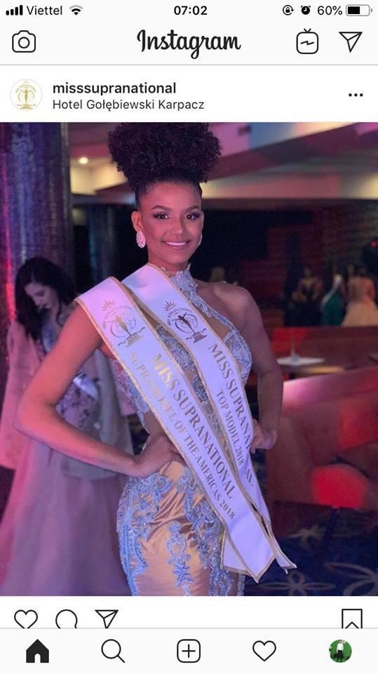 Người chiến thắng ở phần thi Top Model là Hoa hậu Brazil, cô cũng chiến thắng nhóm thí sinh của châu Mỹ.
