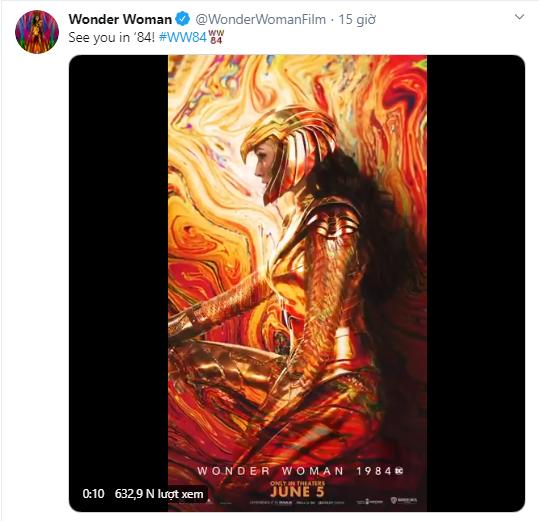 Wonder Woman 1984 tung poster mới, nhưng ngày ra mắt liệu có bị đổi? ảnh 4