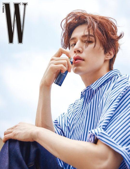 Thần chết Lee Dong Wook đẹp trời ngời ngời trên tạp chí W mà vẫn khiêm tốn nói Goblin là bộ phim của Gong Yoo ảnh 5