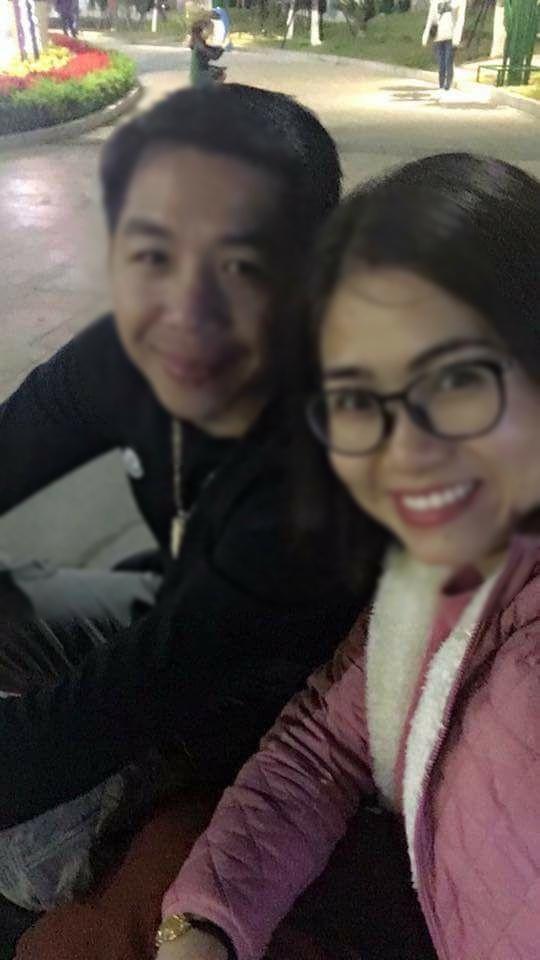 Bức ảnh chị Huyền chụp cùng chồng cũ cách đây không lâu sau khi hai người quyết định quay lại với nhau.