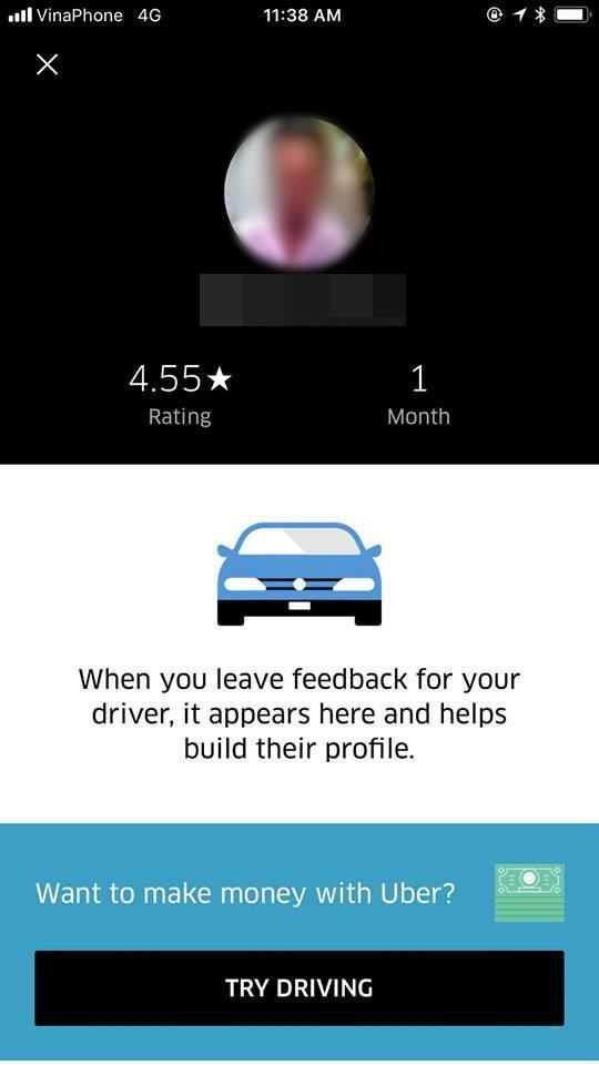 Bầu 7 tháng, Hà Anh bị tài xế Uber đuổi khỏi xe vì nhờ tắt radio ảnh 3