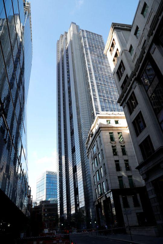 Tòa tháp Heron cao 202 m – một trong những căn nhà chọc trời ở London. Ảnh: PA
