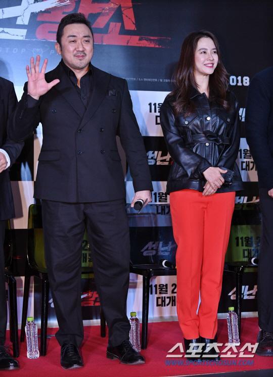 Ra mắt phim 'Unstoppable' của Song Ji Hyo  Ma Dong Seok: Nhiều nghệ sĩ tham dự, thành viên Running Man đều vắng mặt ảnh 3