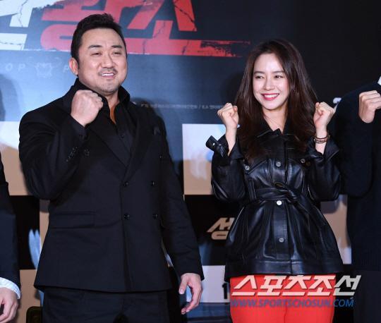 Ra mắt phim 'Unstoppable' của Song Ji Hyo  Ma Dong Seok: Nhiều nghệ sĩ tham dự, thành viên Running Man đều vắng mặt ảnh 4