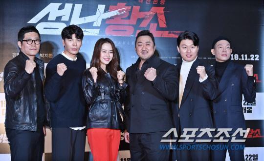 Ra mắt phim 'Unstoppable' của Song Ji Hyo  Ma Dong Seok: Nhiều nghệ sĩ tham dự, thành viên Running Man đều vắng mặt ảnh 6