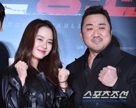 Ra mắt phim 'Unstoppable' của Song Ji Hyo  Ma Dong Seok: Nhiều nghệ sĩ tham dự, thành viên Running Man đều vắng mặt ảnh 5