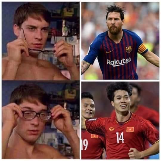 Pha ghi bàn của Công Phượng khiến fan tưởng như Messi.