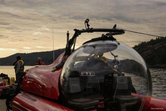 Tàu lặn Aquatica Stingray 500. Ảnh: Aquatica Submarines