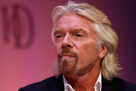 Tỉ phú Richard Branson. Ảnh: Reuters
