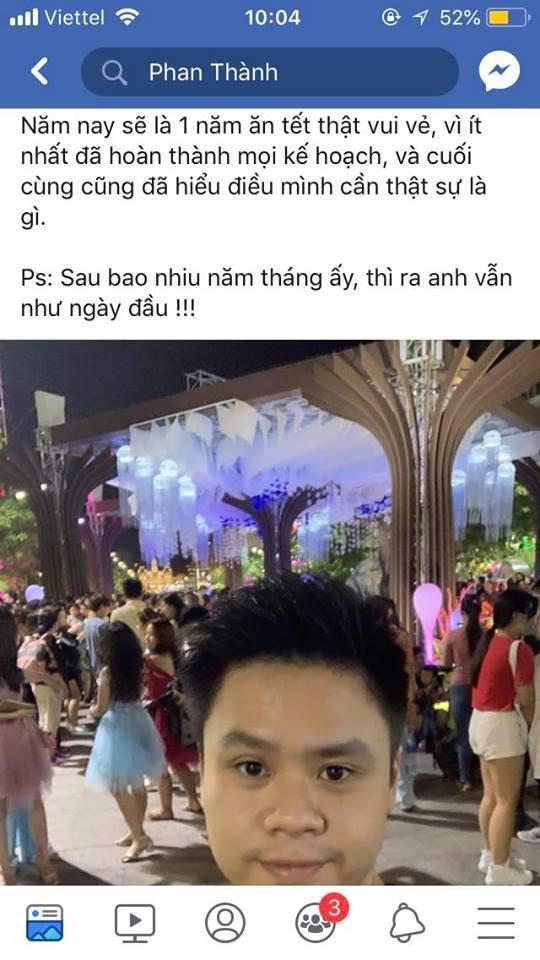 Fan phỏng đoán Phan Thành đang có ý muốn quay lại với Midu.
