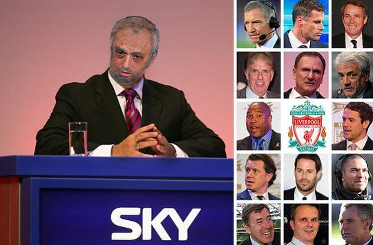 Hình ảnh châm biếm Mourinho trên Dailymail