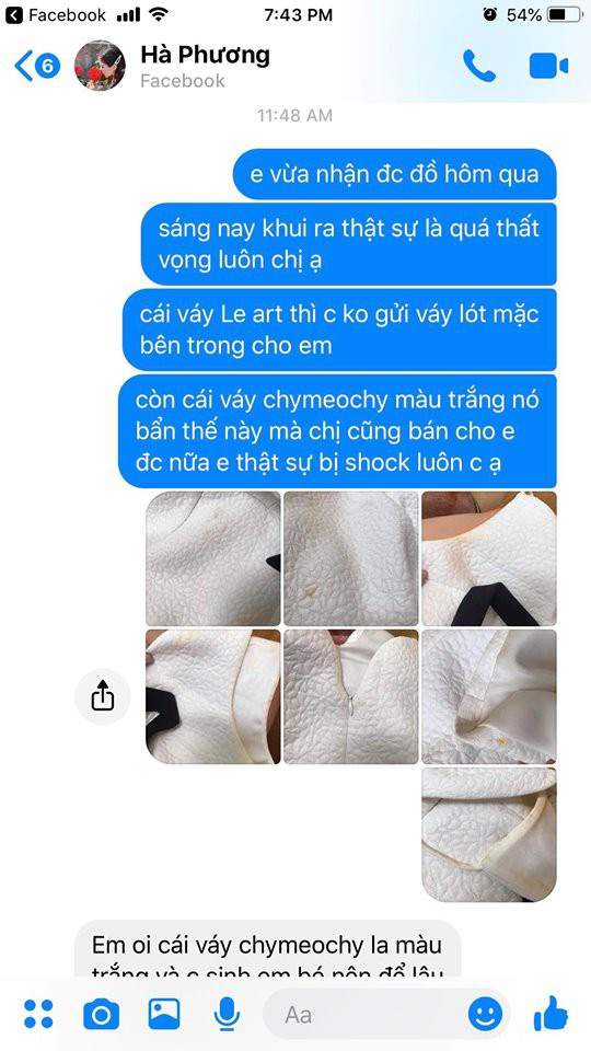 Bị tố thanh lý váy như giẻ lau với giá 500k,MC Hà Phương lập tức đăng đàn phản pháo ảnh 3