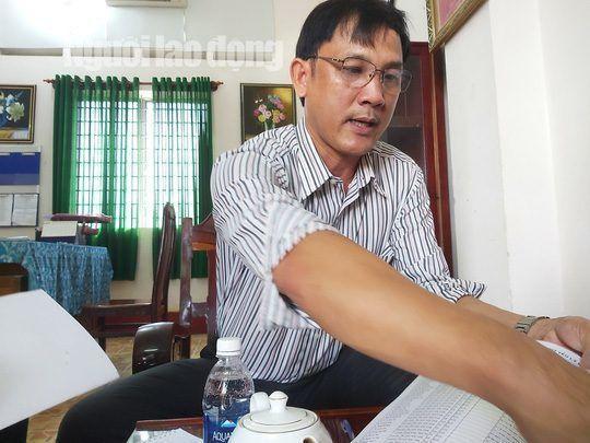 Ông Nguyễn Ngọc Toàn, Hiệu trưởng Trường THPT Phú Quốc. Ảnh: báo Người lao động.